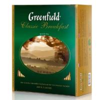 Чай Гринфилд классик брекфаст 100пак. 200г