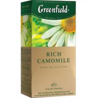 Чай Гринфилд рич камомайл 25пак. 37,5г