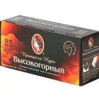 Чай Нури высокогорный байховый черный 25пак. 50г