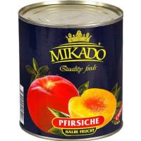 Персики Микадо половинками 825г ж/б