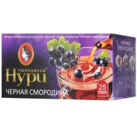 Чай Нури цейлонский черный со смородиной 25пак. 37,5г