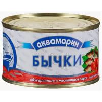 Бычки Аквамарин обжаренные в т/с ж/бн 240г