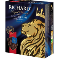 Чай Ричард Английский завтрак черный 100 пак*2г б/к