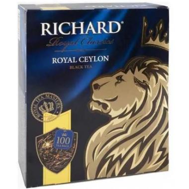 Чай Ричард роял цейлон черный 100 пак*2г б/к