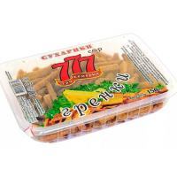 Гренки 777 сыр 150г контейнер