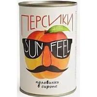 Персики Санфил половинки в сиропе 530г