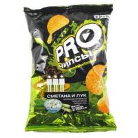 Чипсы картофельные Про-чипсы со вкусом сметаны и лука 150г