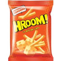 Чипсы картофельные Хрум со вкусом сыра соломка 50г