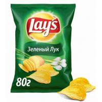 Чипсы Лэйс зеленый лук 80г
