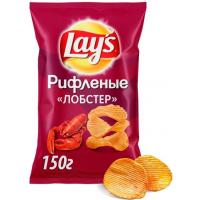 Чипсы Лэйс лобстер 150г