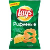Чипсы Лэйс нежный сыр 150г