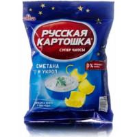 Чипсы Русская картошка сметана/укроп 150г