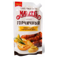 Майонез Махеев горчичный 380 м/у