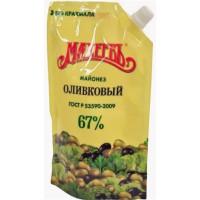 Майонез Махеевъ оливковый 380г м/у