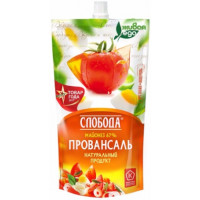 Майонез Слобода провансаль 67% 400г м/у