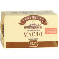 Масло Брест-Литовское сладко-сливочное 82,5% 180г