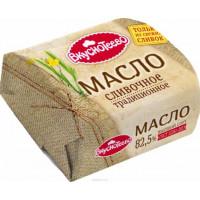 Масло Вкуснотеево сливочное традиционное 82,5% 200г линкавер