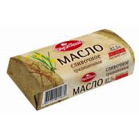 Масло Вкуснотеево сливочное традиционное 82,5% 400г линкавер