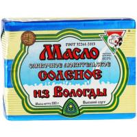 Масло Из Вологды любительское соленое 80% 180г