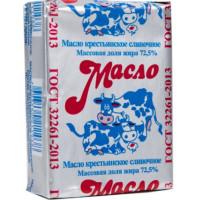 Масло Славмо крестьянское 72,5% 185г