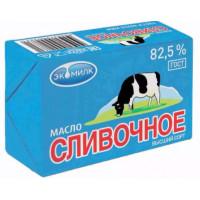Масло Экомилк сливочное 82,5% 100г