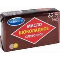 Масло Экомилк шоколадное 62% 180г