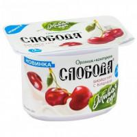 Био-йогурт Слобода вишня 2,9% 125г