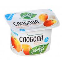 Био-йогурт Слобода персик 2,9% 125г