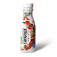 Био-йогурт Слобода питьевой клубника жир.2% 290г
