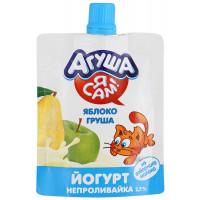 Йогурт Агуша Я сам яблоко-груша 2,7% 85г