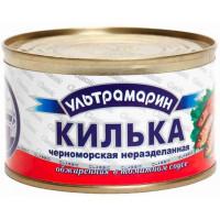 Килька Ультрамарин черноморская в томатном соусе ж/б 240г