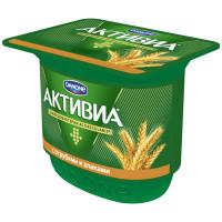 Биойогурт Активиа с бифидобактериями отруби+злаки 2,9% 150г