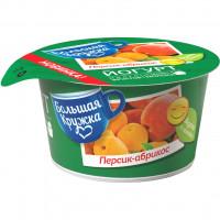 Йогурт Большая кружка персик абрикос 1,8% 160г