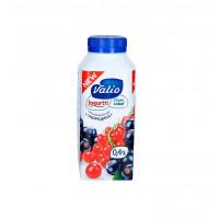 Йогурт Валио питьевой с красной и черной смородиной 0,4% 330г
