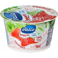 Йогурт Валио с клубникой 2,6% 180г