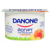 Йогурт Данон персик 2,9% 110г