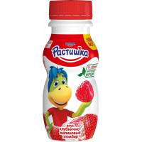 Йогурт Растишка питьевой клубнично-малиновый пломбир 1,6% 200г