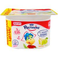 Йогурт Растишка яблоко-груша 3% 110г