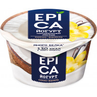 Йогурт Эпика кокос-ваниль 6,3% 130г