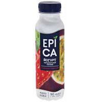 Йогурт Эпика питьевой клубника маракуйя 2,5% 290г