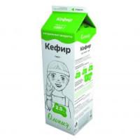 Кефир Олонецкий мк жир.2,5% 1,0кг