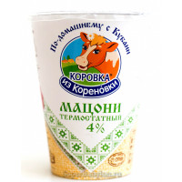Мацони Коровка из Кореновки 4% 350г