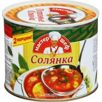 Солянка Главпродукт сборная с мясом 525г ж/б