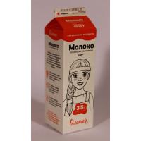 Молоко Олонецкий мк пастеризованное жир.3,5% т/р 1,0кг т/п