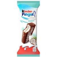 Пирожное Киндер пингви с кокосом 30г