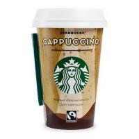 Напиток Старбакс молочный кофейный Капучино 2,5% 220мл стакан