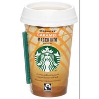 Напиток Старбакс молочный кофейный Карамель Макчиато 1,6% 220мл стакан
