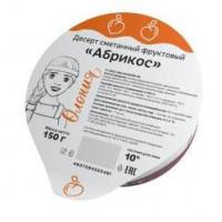 Десерт Олонецкий мк сметанный фруктовый в ассортименте 150г