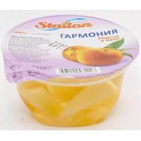 Желе и фрукты Гармония персик 150г