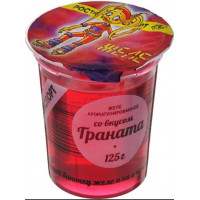 Желе РАЭ ароматизированное со вкусом граната 125г